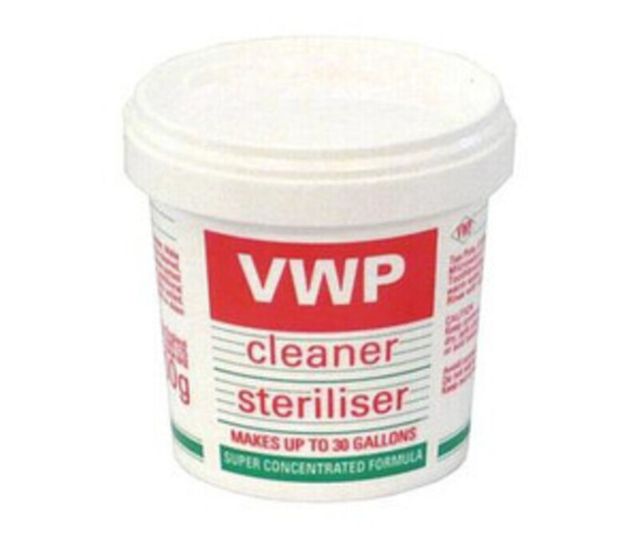 AWP Cleaner and Sanitiser which I used to clean everything!
