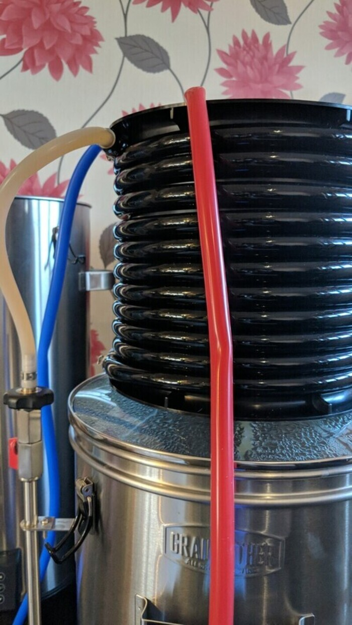 Grainfather wort cooling coil