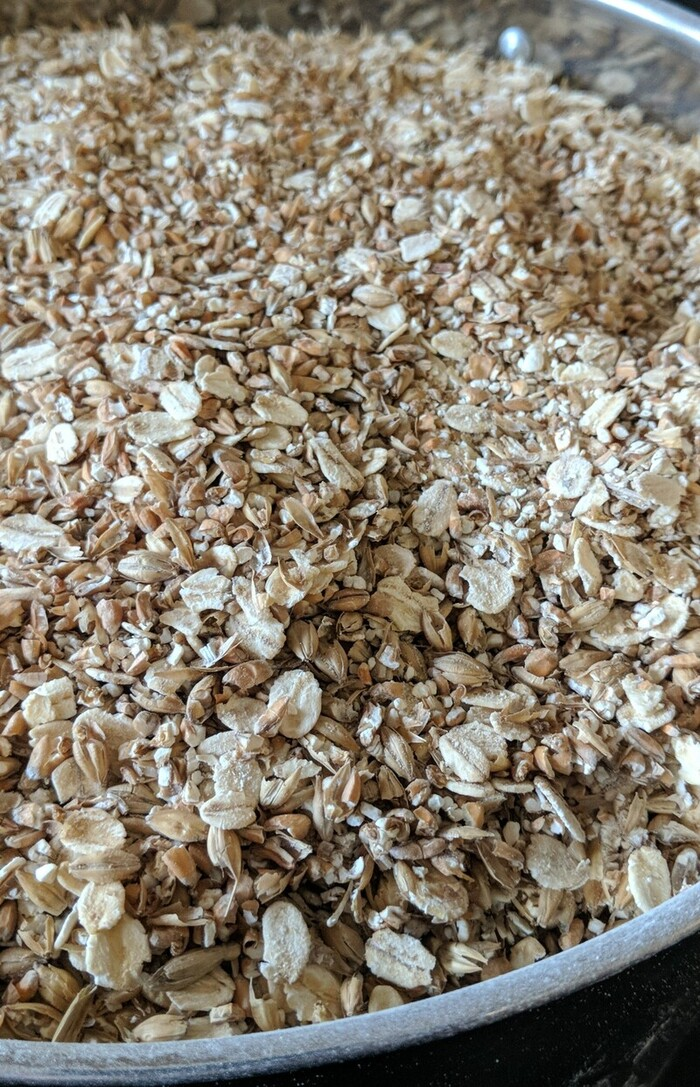 Grain bill for brew 3