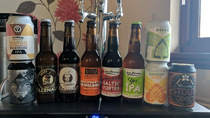 Beers from Estonia and Finland